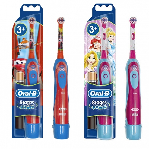 oral b brosse a dents electrique a piles enfant 3 ans et plus. Black Bedroom Furniture Sets. Home Design Ideas