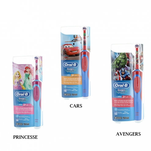 oral b brosse a dents electrique stage power enfant 3 ans et plus. Black Bedroom Furniture Sets. Home Design Ideas