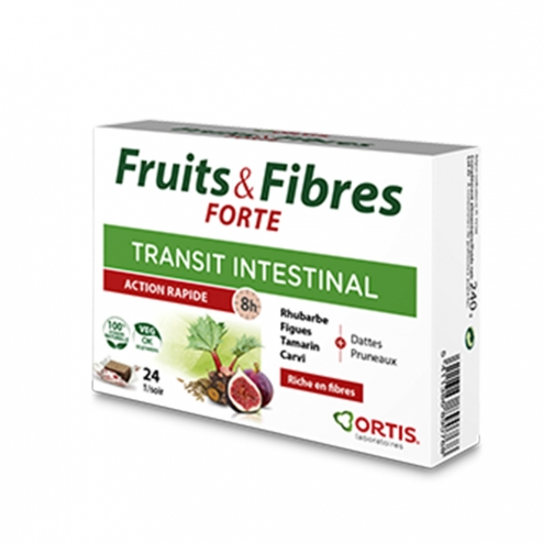 ORTIS FRUITS & FIBRES FORTE 24 CUBES