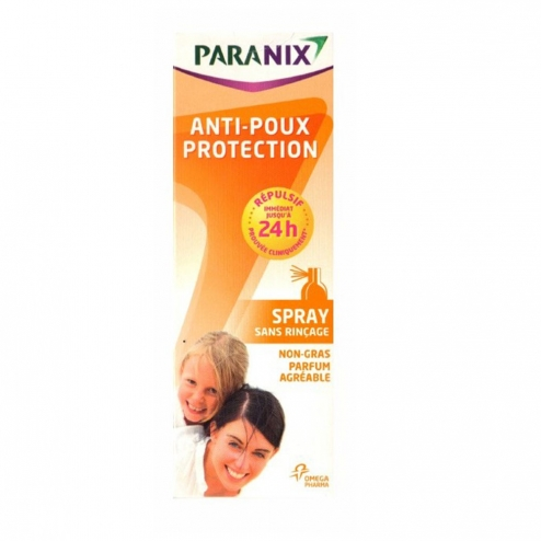 Paranix repulsif poux spray preventif 100ml for Anti poux maison