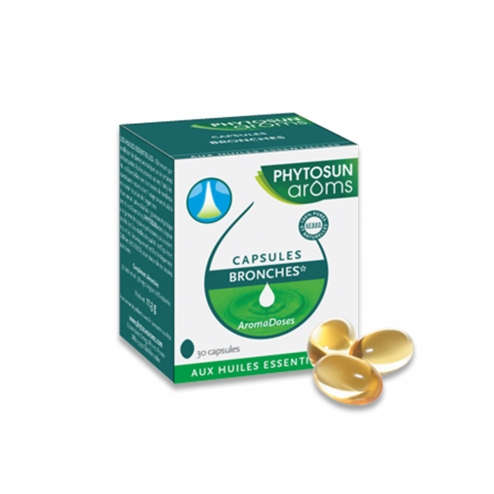 PHYTOSUN BRONCHES AROMADOSES 30 CAPSULES