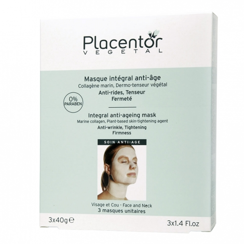 placentor vegatal masque integral anti age visage et cou 3 sachets 40g. Black Bedroom Furniture Sets. Home Design Ideas