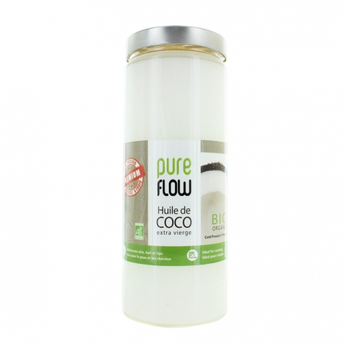 PURE FLOW HUILE COCO EXTRA VIERGE BIO 1L