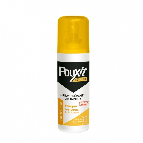 REPULSIF SPRAY PREVENTIF ANTI-POUX 75ML POUXIT COOPER