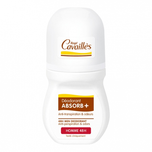 ROGE CAVAILLES HOMME DEO ABSORB+ 48H ROLL-ON 50ML