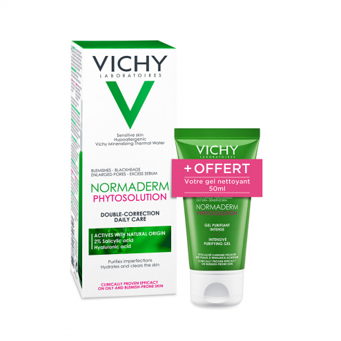 ROUTINE ANTI-IMPERFECTIONS 50ML NORMADERM PHYTOSOLUTION VICHY