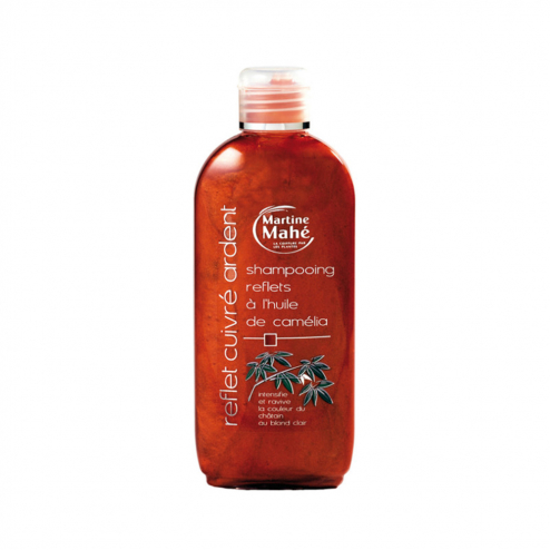 Shampooing Reflets Cuivre Ardent 200ml Martine Mahe