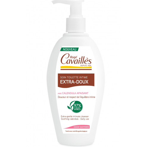 SOIN TOILETTE INTIME NATUREL EXTRA-DOUX 250ML ROGE CAVAILLES