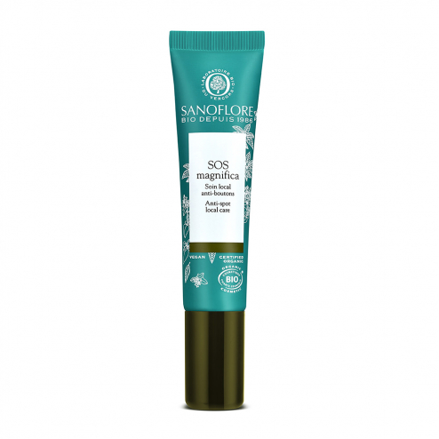 Soin local anti boutons et imperfections 15ml SOS Magnifica Sanoflore