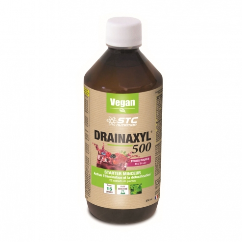 STC NUTRITION DRAINAXYL 500 FRUITS ROUGES 500ML