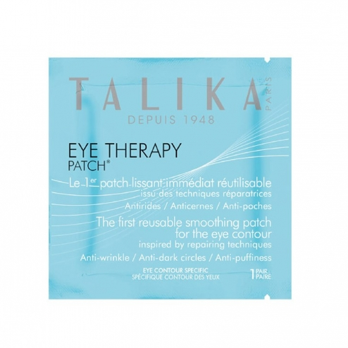 TALIKA EYE THERAPY PATCH LISSANT IMMEDIAT REUTILISABLE ANTI-RIDES CERNES ET POCHES 1 PAIRE