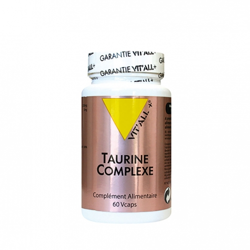 VIT'ALL+ TAURINE COMPLEXE 60 COMPRIMES SECABLES
