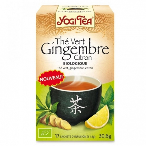 yogi tea the vert gingembre citron 17 sachets easyparapharmacie. Black Bedroom Furniture Sets. Home Design Ideas
