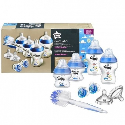 TOMMEE TIPPEE CLOSER TO NATURE KIT NAISSANCE-BLEU