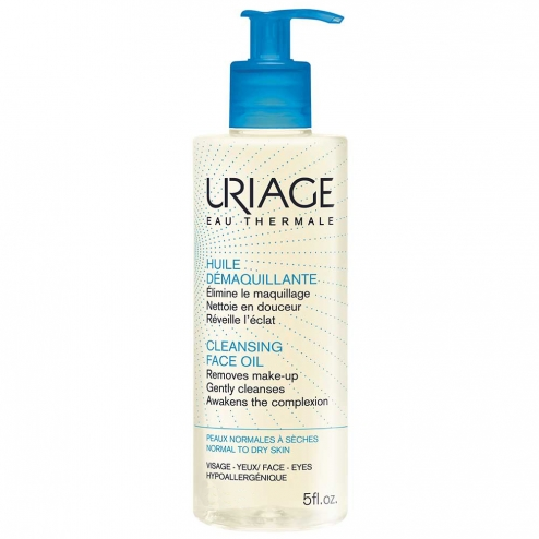 URIAGE HUILE DEMAQUILLANTE PEAUX NORMALES A SECHES 150ML
