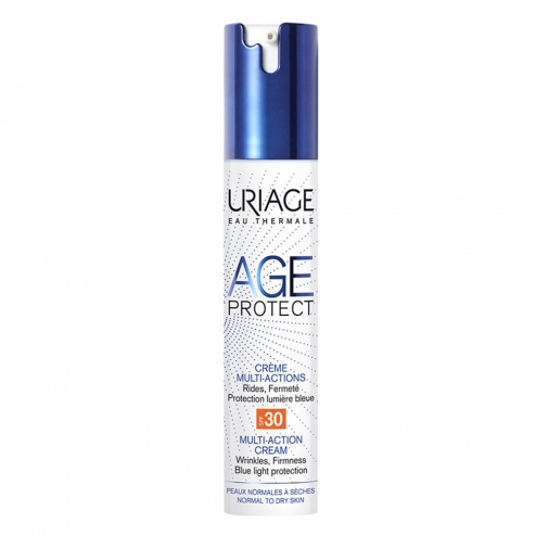URIAGE AGE PROTECT CREME MULTI-ACTIONS SPF30 PEAUX NORMALES A SECHES 40ML
