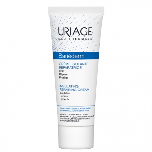 URIAGE BARIEDERM CREME ISOLANTE REPARATRICE PEAUX FRAGILISEES ET AGRESSEES 75ML