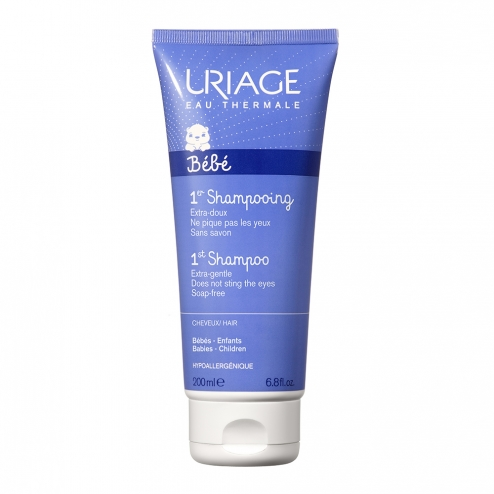 URIAGE BEBE 1ER SHAMPOOING EXTRA DOUX CHEVEUX 200ML