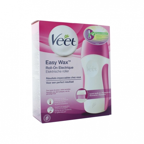 veet easy wax roll on electrique epilation easyparapharmacie. Black Bedroom Furniture Sets. Home Design Ideas