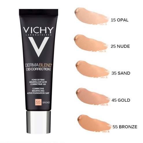 vichy dermablend 3d fond de teint 30ml easyparapharmacie. Black Bedroom Furniture Sets. Home Design Ideas