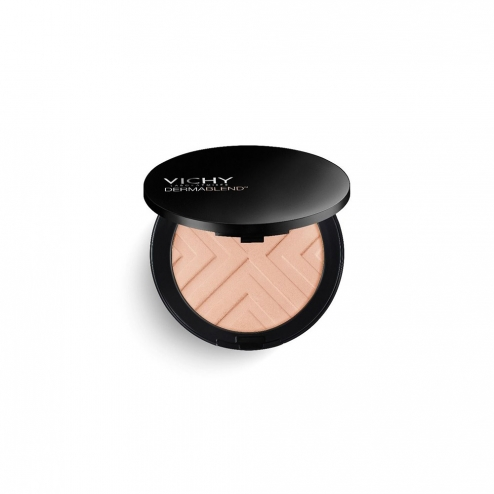 VICHY DERMABLEND COVERMATTE POUDRE COMPACT PEAUX NORMALES A GRASSES SPF25 9.5G - 25 NUDE