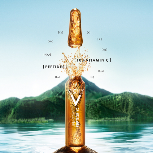 AMPOULES ANTI AGE X10 LIFTACTIV INNOVATION CURE ANTI RIDES 10% VITAMINE C VICHY