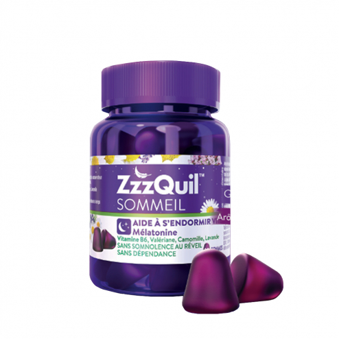 Gommes Sommeil x 30 Gommes ZzzQuil