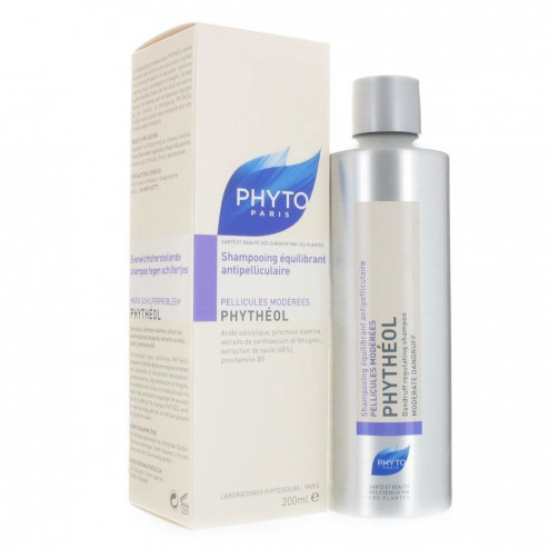 PHYTO PHYTEOL SHAMPOOING ANTIPELLICULAIRE 200ML Easyparapharmacie
