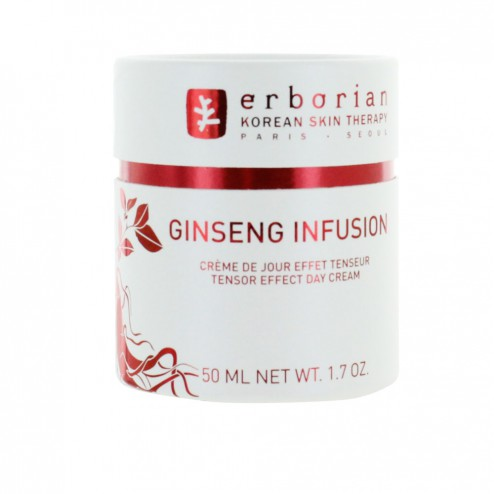 erborian ginseng infusion creme de jour effet tenseur 50ml easyparapharmacie. Black Bedroom Furniture Sets. Home Design Ideas