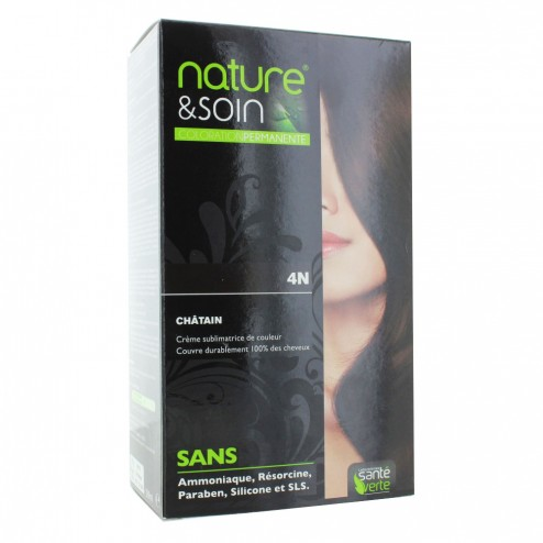sante verte nature soin coloration permanente 129ml - Coloration Nature Et Soin
