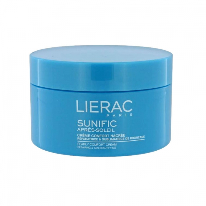 lierac sunific apres soleil creme confort nacree 200ml. Black Bedroom Furniture Sets. Home Design Ideas