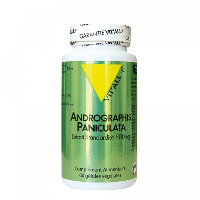 VIT'ALL+ ANDROGRAPHIS PANICULATE 400 MG 60 COMPRIMES