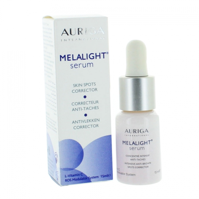 auriga melalight serum correcteur anti taches 15ml easyparapharmacie. Black Bedroom Furniture Sets. Home Design Ideas