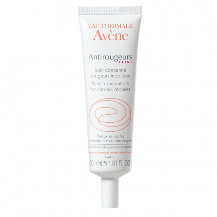 AVENE ANTIROUGEURS FORT SOIN CONCENTRE ROUGEURS INSTALLEES PEAUX SENSIBLES COUPEROSEES 30ML