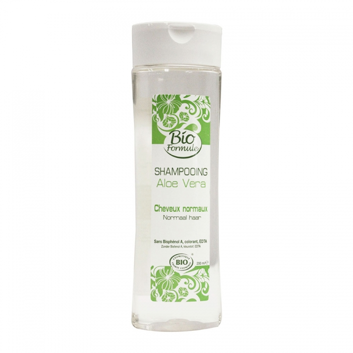 BIO FORMULE SHAMPOOING DOUX ALOE VERA CHEVEUX NORMAUX 200ML