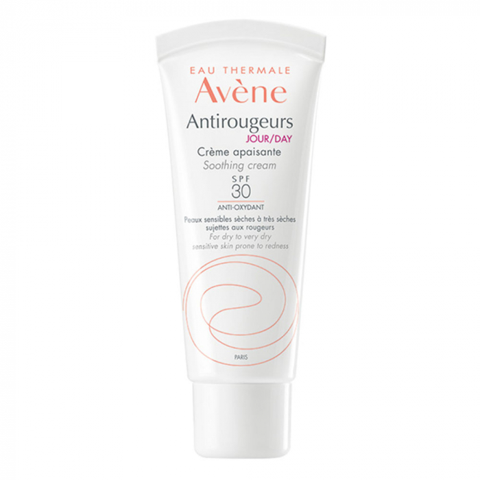 CREME HYDRATANTE PROTECTRICE SPF20 40ML ANTIROUGEURS JOUR PEAUX SENSIBLES AVENE