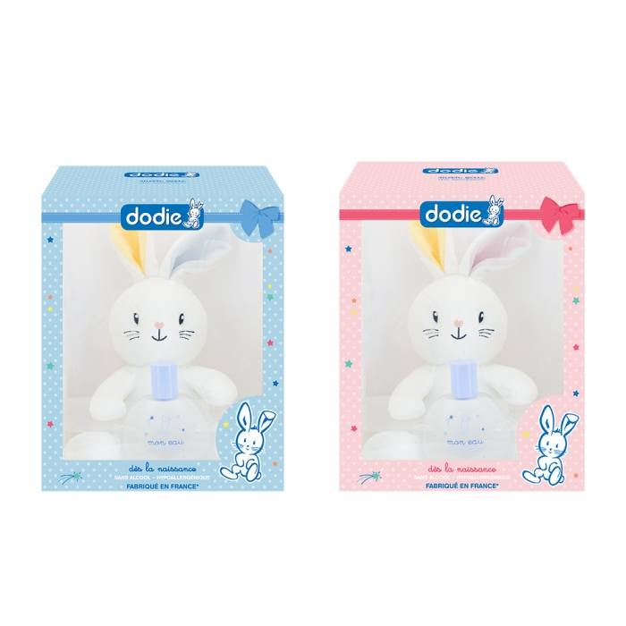 dodie coffret de senteur bebe 50ml doudou lapin. Black Bedroom Furniture Sets. Home Design Ideas