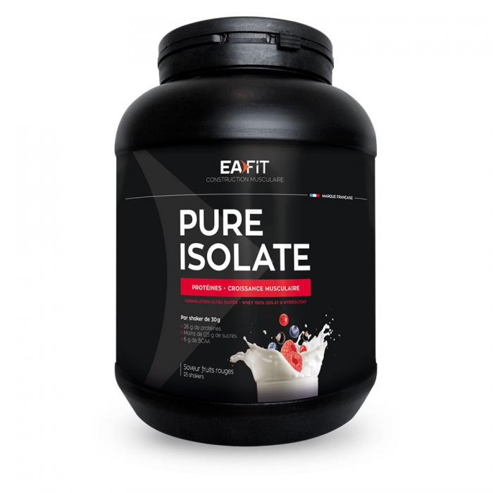 EAFIT PURE ISOLATE 750G - FRUITS ROUGES