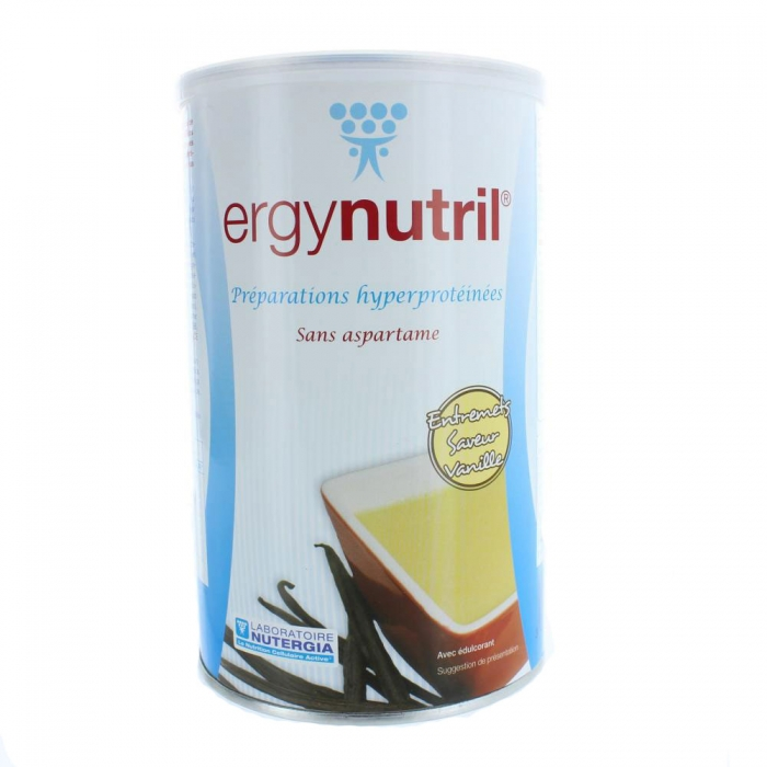NUTERGIA ERGYNUTRIL VANILLE 300G