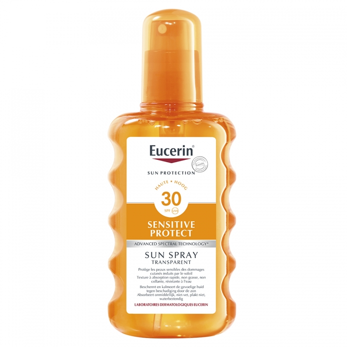 EUCERIN SUN SENSITIVE PROTECT SPRAY TRANSPARENT SPF30 200ML
