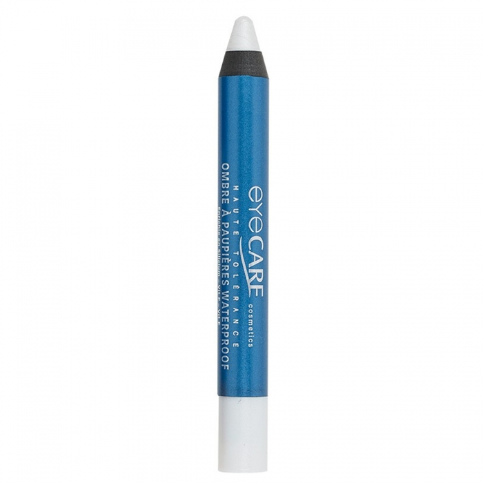 EYE CARE COSMETICS CRAYON OMBRE A PAUPIERES WATERPROOF-BLANC NACRE