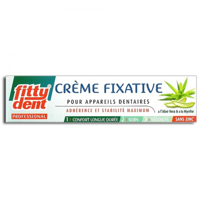 FITTY DENT CREME FIXATIVE POUR APPAREILS DENTAIRES 40G