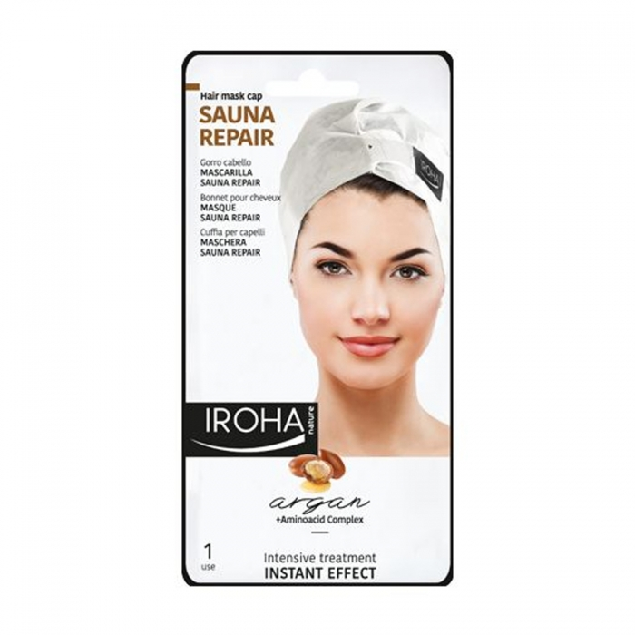IROHA BONNET MASQUE SAUNA REPAIR CHEVEUX X 1 UNITE