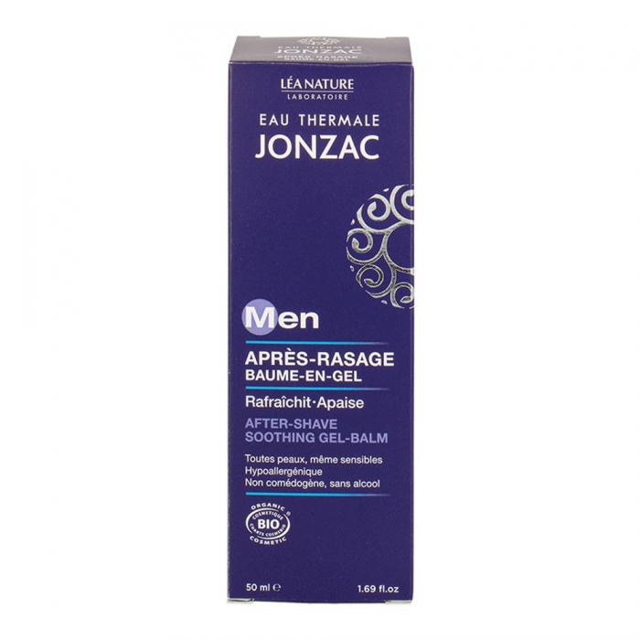 JONZAC FOR MEN BAUME EN GEL APRES-RASAGE BIO 50ML