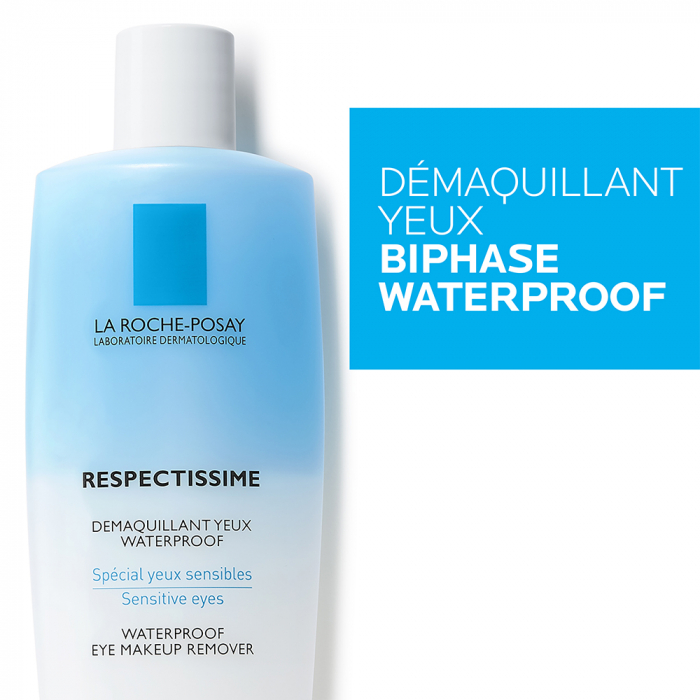 LA ROCHE-POSAY RESPECTISSIME DÉMAQUILLANT YEUX WATERPROOF 2 X 125 ML