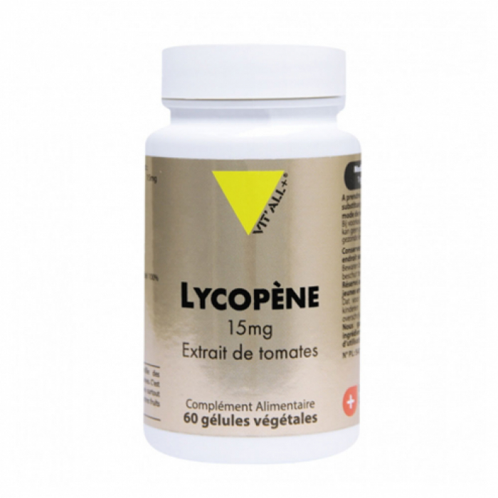 LYCOPENE 15MG 60 GELULES VIT'ALL+