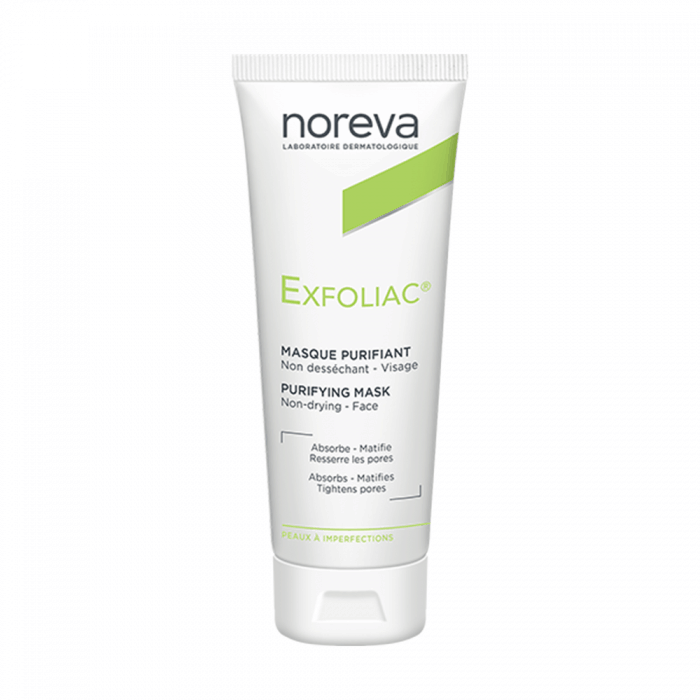 MASQUE PURIFIANT 50ML EXFOLIAC NOREVA