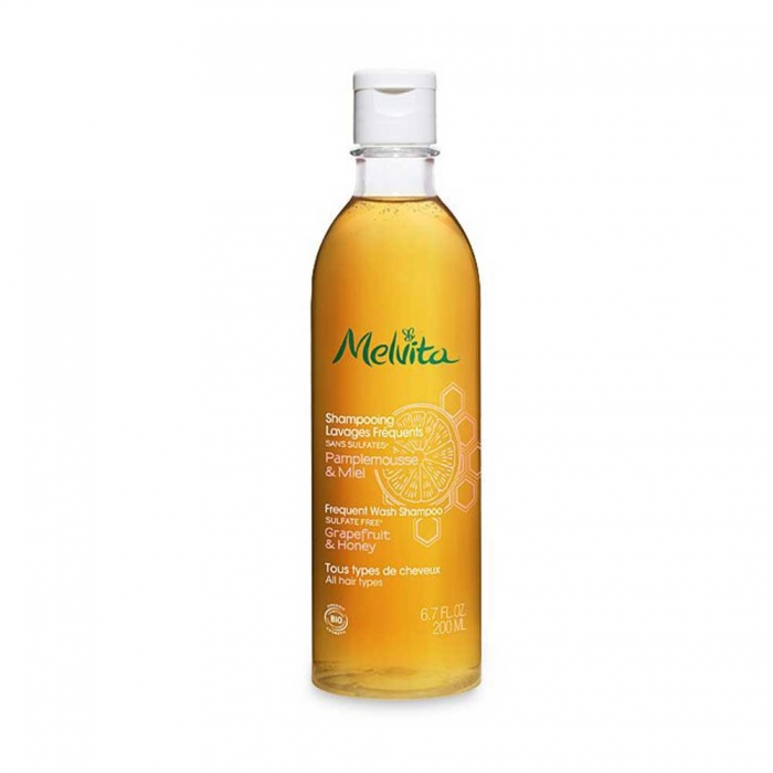 MELVITA SHAMPOOING LAVAGES FREQUENTS MIEL PAMPLEMOUSSE BIO 200ML