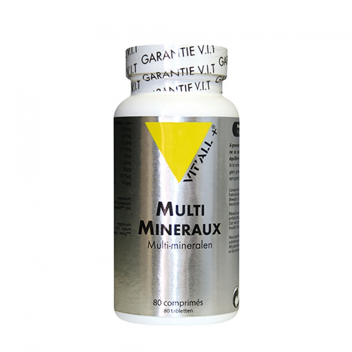 VIT'ALL+ MULTIMINERAUX 80 COMPRIMES