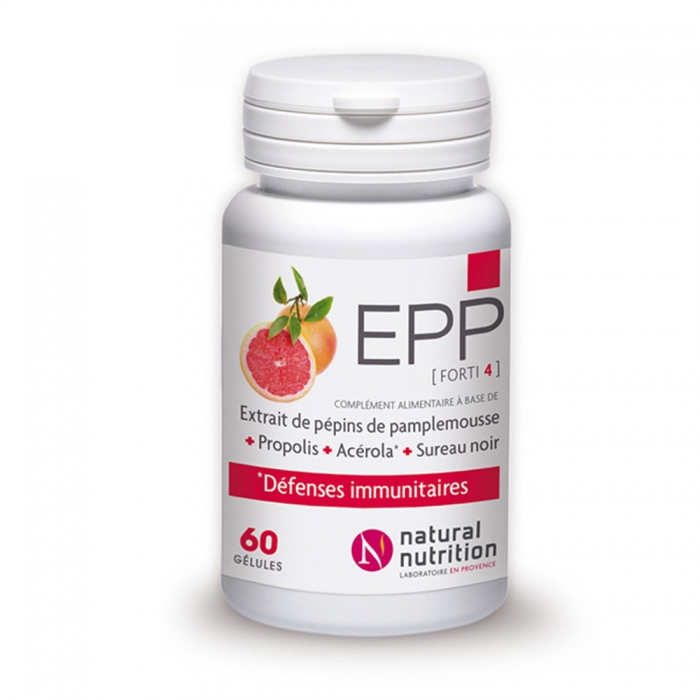 NATURAL NUTRITION EPP FORTI4 30 GELULES